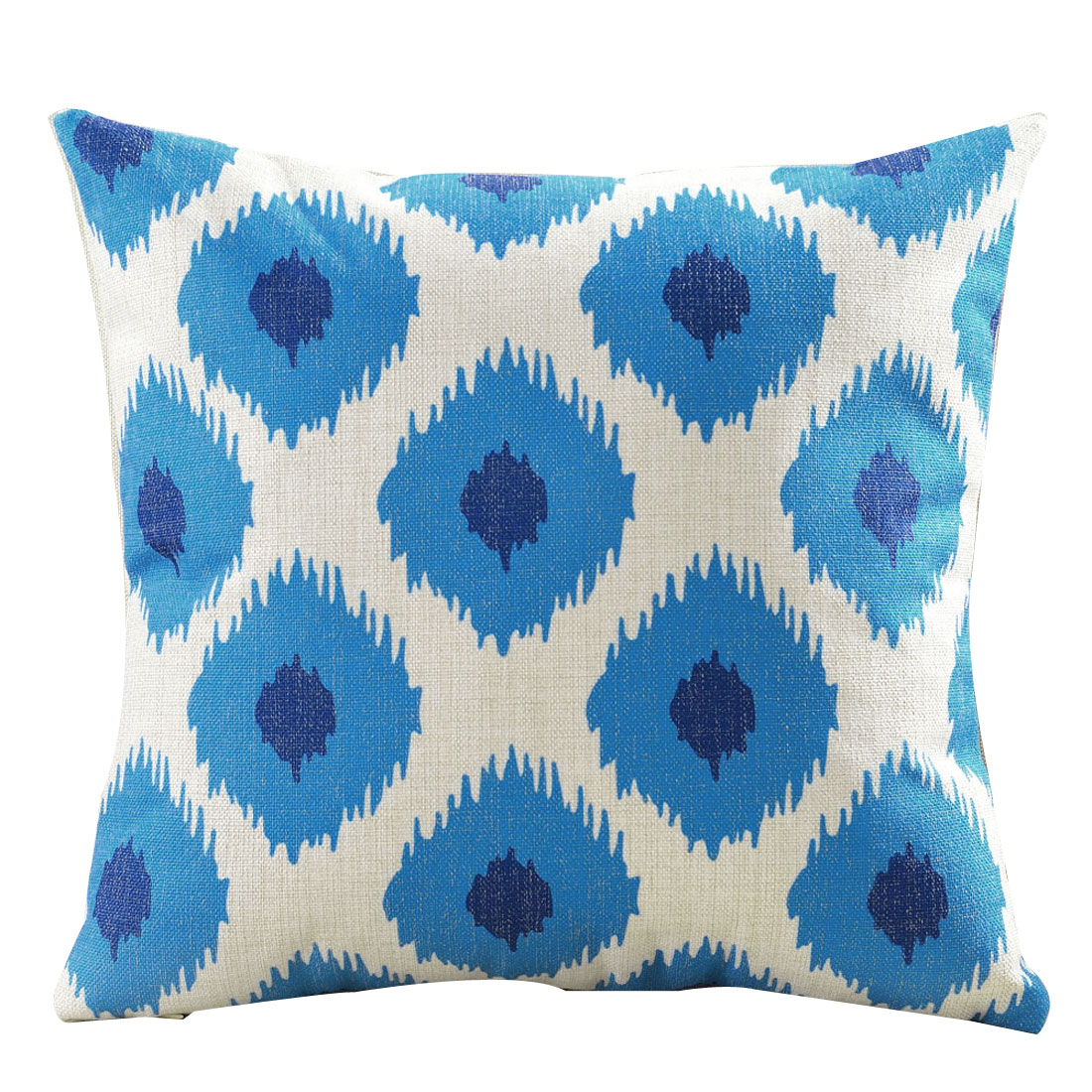 Home Cotton Linen Single Side Northern Europe Abstract Style Cushion Pillow Cover