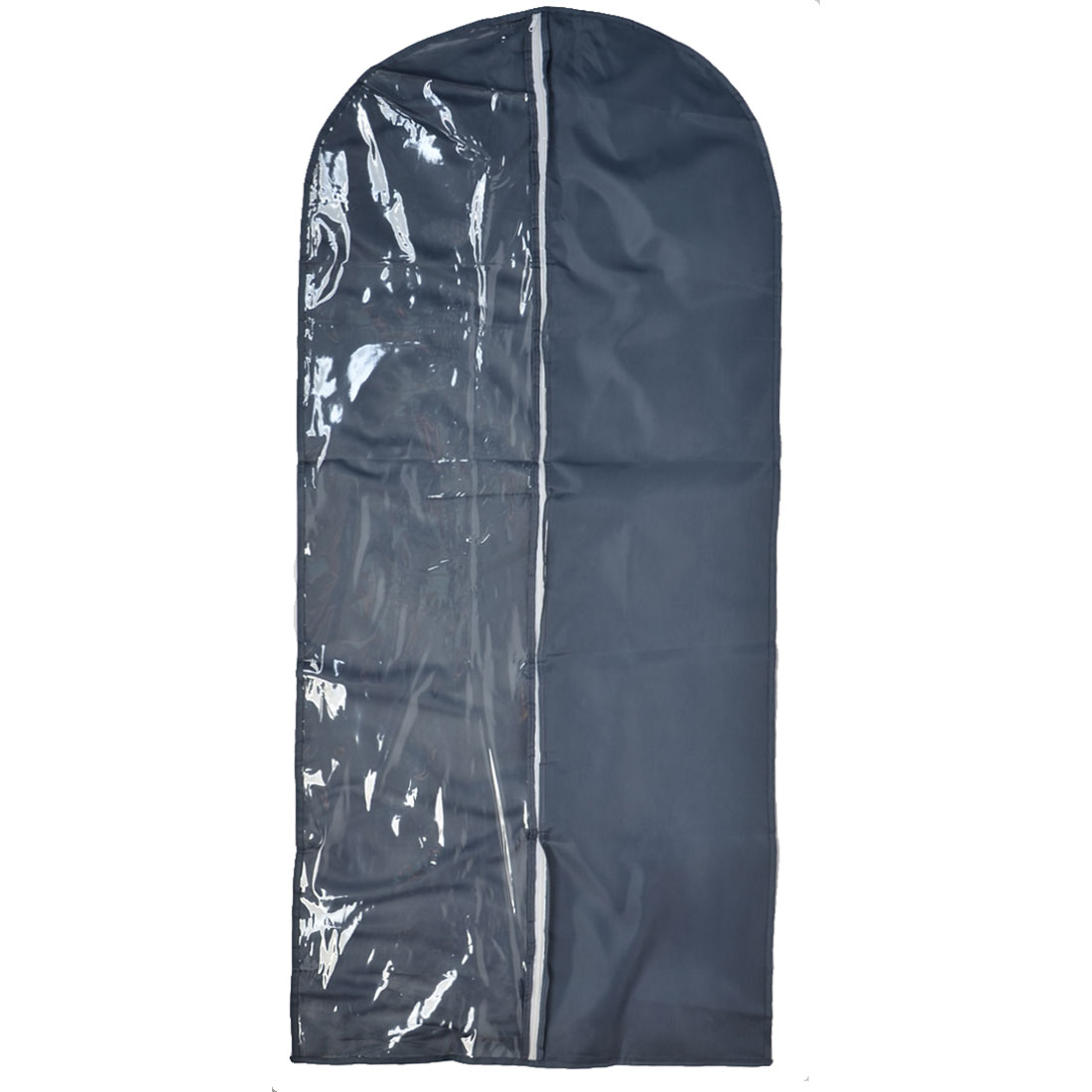 Travel Home Clothes Suit Dress Dustproof Cover Storage Protector Bag Dark Gray