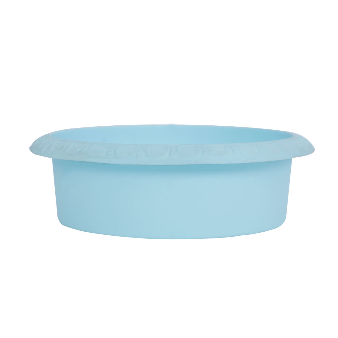 Home Office Garden Plastic Bowl Shaped Aloes Cactus Plant Flower Pot Baby Blue