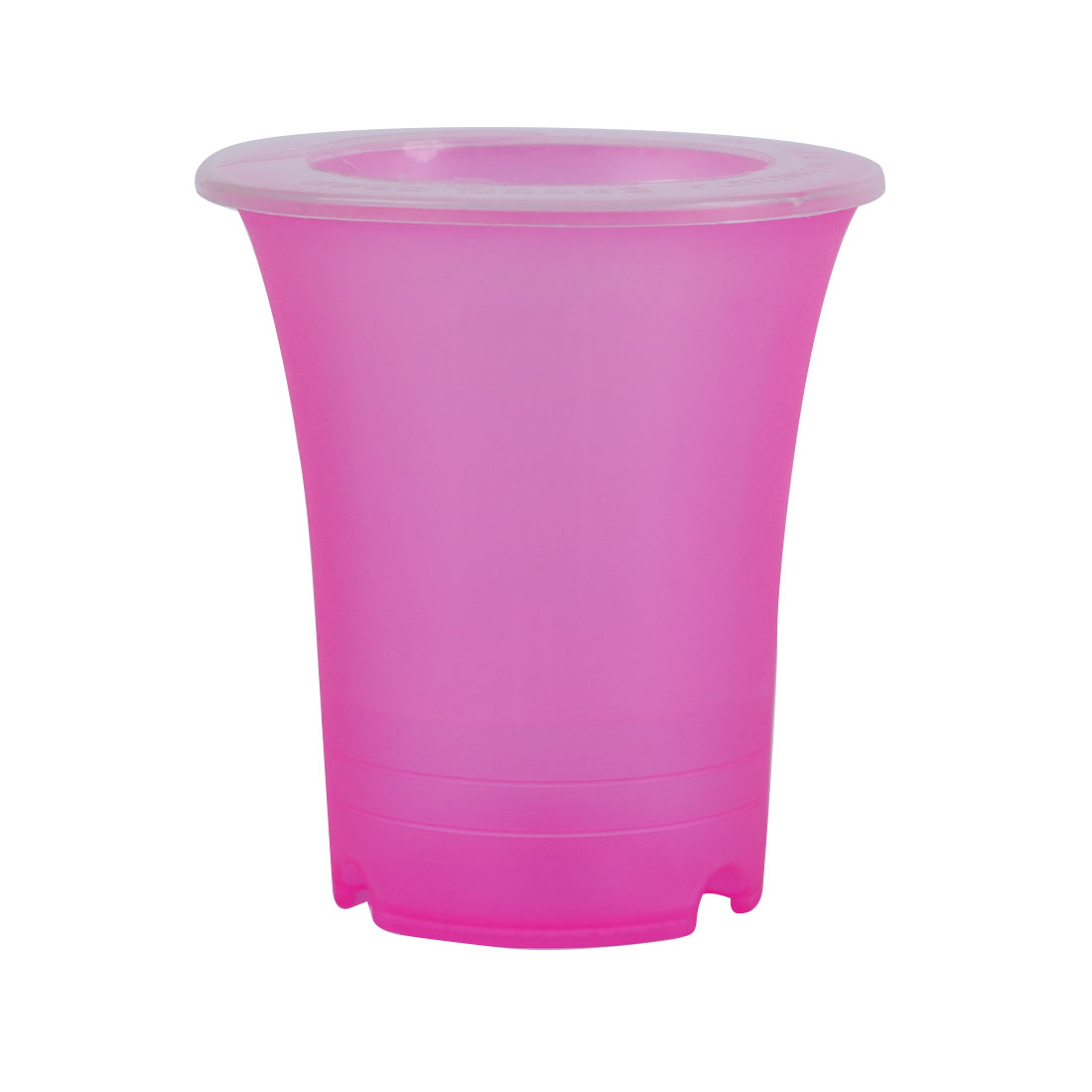 Plastic Double Layers Design Flowerpot Basket Self Watering Planter Fuchsia