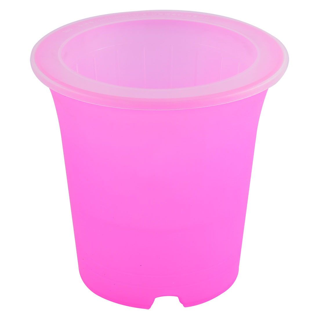 Plastic Double Layers Self Watering Planter Flower Pot Container Fuchsia