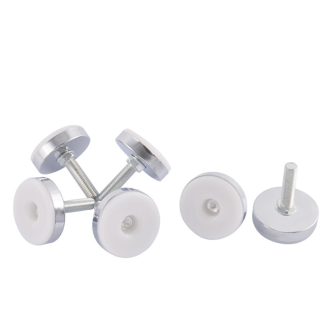 Home Office Adjustable Furniture Glide Leveling Feet 10mm Thread Dia 6 Pcs