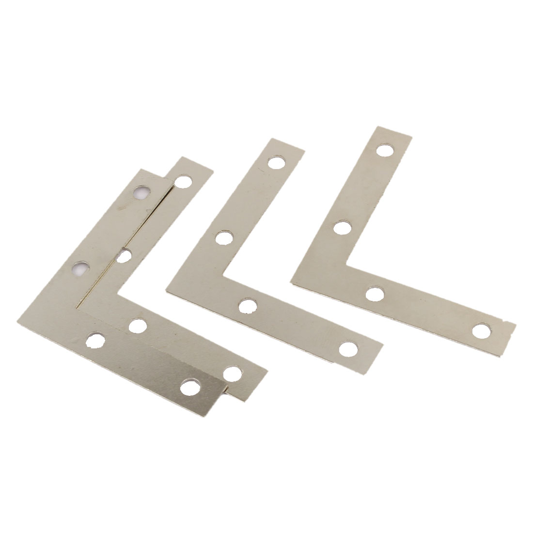 50mm x 50mm Angle Brackets Corner Braces L Shape Mending Repair Plates 4PCS
