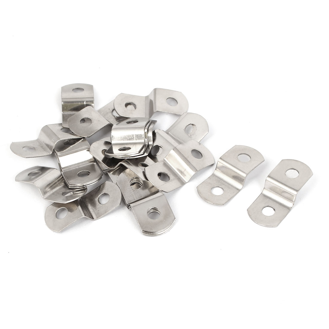 30mm x 13mm x 7mm Metal Z Shape Photo Picture Frame Braces Brackets 20PCS
