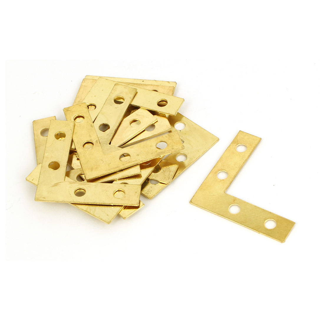 38mm x 38mm Angle Brackets Joining Fixing Flat L Shape Repair Plates 12PCS