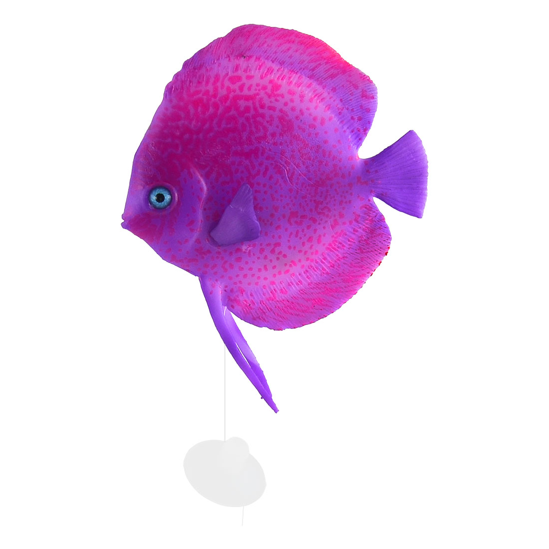 Aquarium Landscape Silicone Artificial Tropical Sea Float Fish Decoration Purple