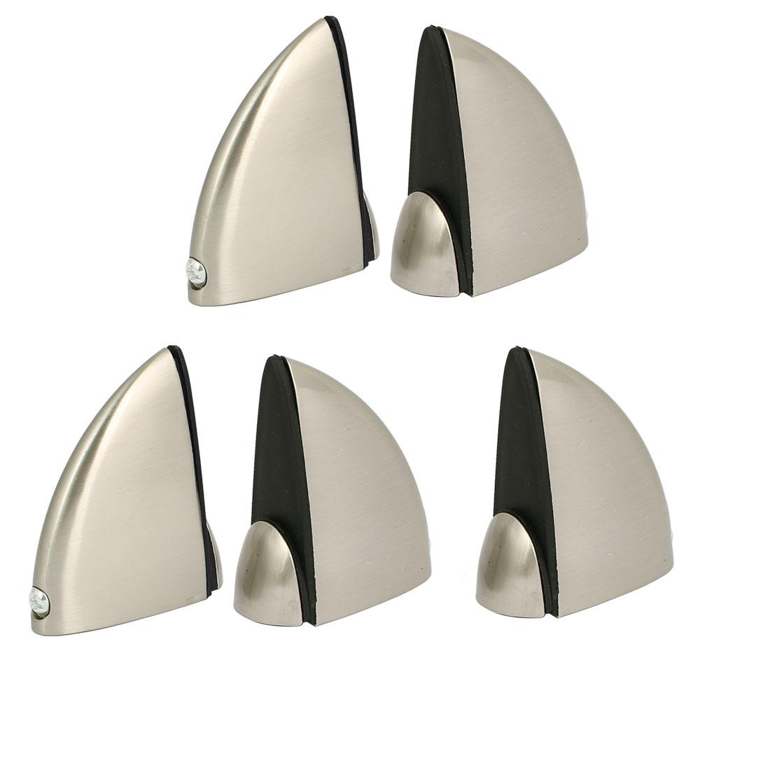 Metal Adjustable Shelf Clip Clamp Holder Bracket 5pcs for 5mm-15mm Thick Glass