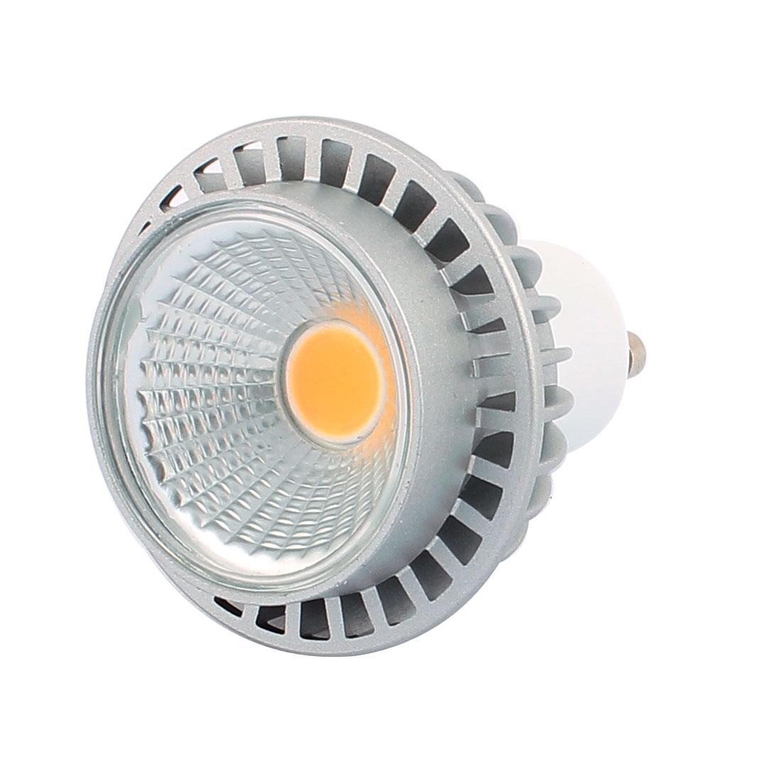 AC85-265V 3W GU10 COB LED 245LM Spotlight Lamp Bulb Downlight Warm White