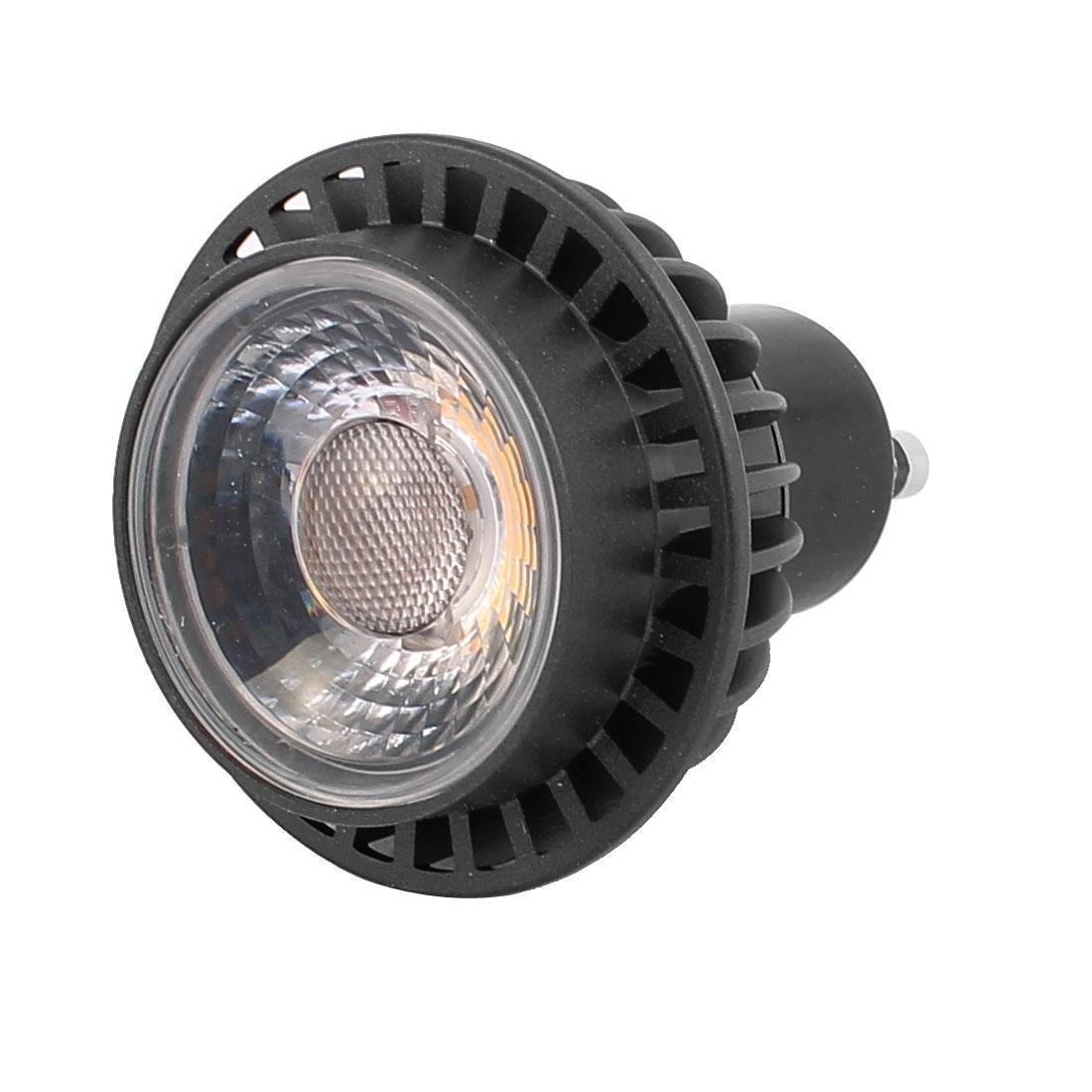 AC85-265V 3W GU10 COB LED Spotlight Lamp Bulb Downlight Cylinder Warm White
