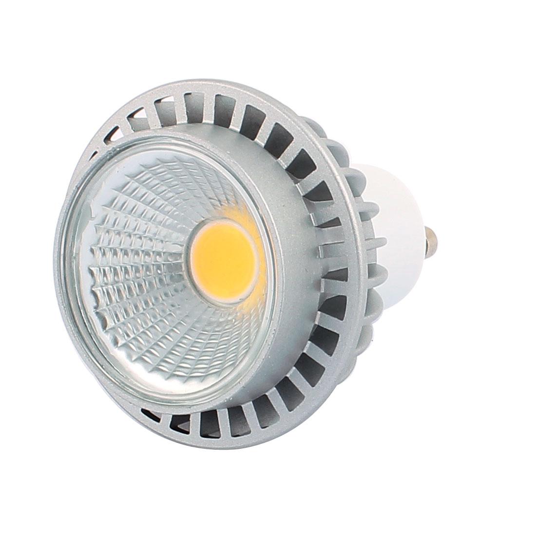 AC85-265V 3W GU10 COB LED 240LM Spotlight Lamp Bulb Downlight Pure White