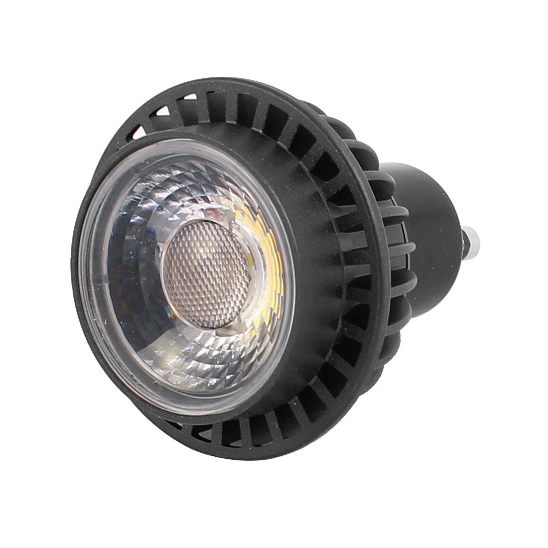 AC85-265V 3W GU10 COB LED Spotlight Lamp Bulb Downlight Cylinder Pure White