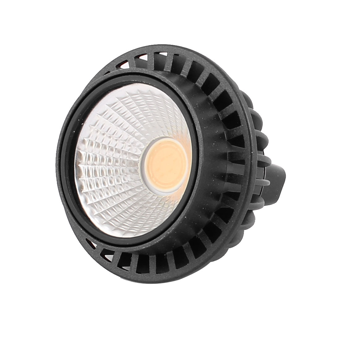 DC12V 3W MR16 COB LED Spotlight Lamp Bulb Round Downlight Warm White