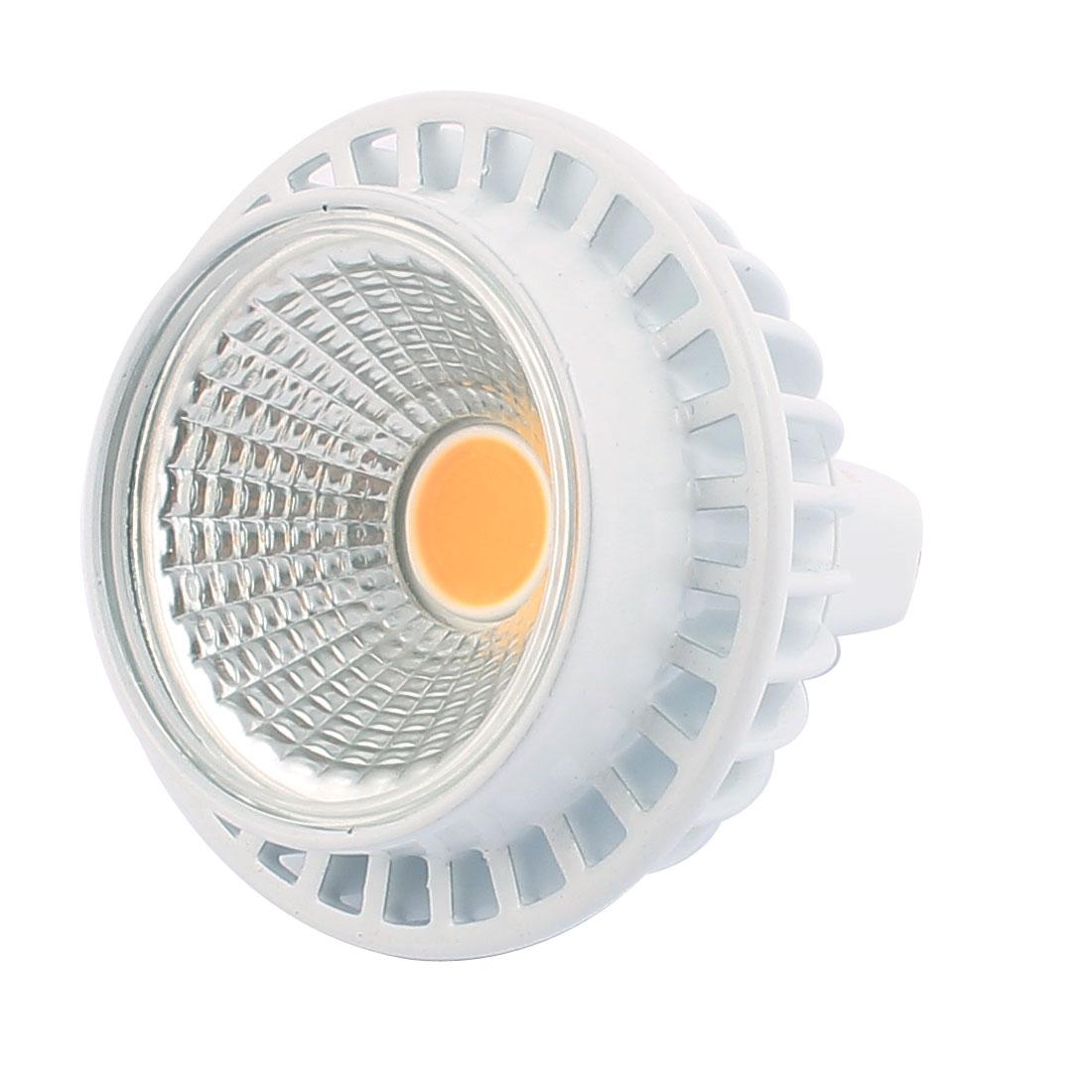 DC12V 3W MR16 COB LED Spotlight Lamp Bulb Practical Downlight Warm White