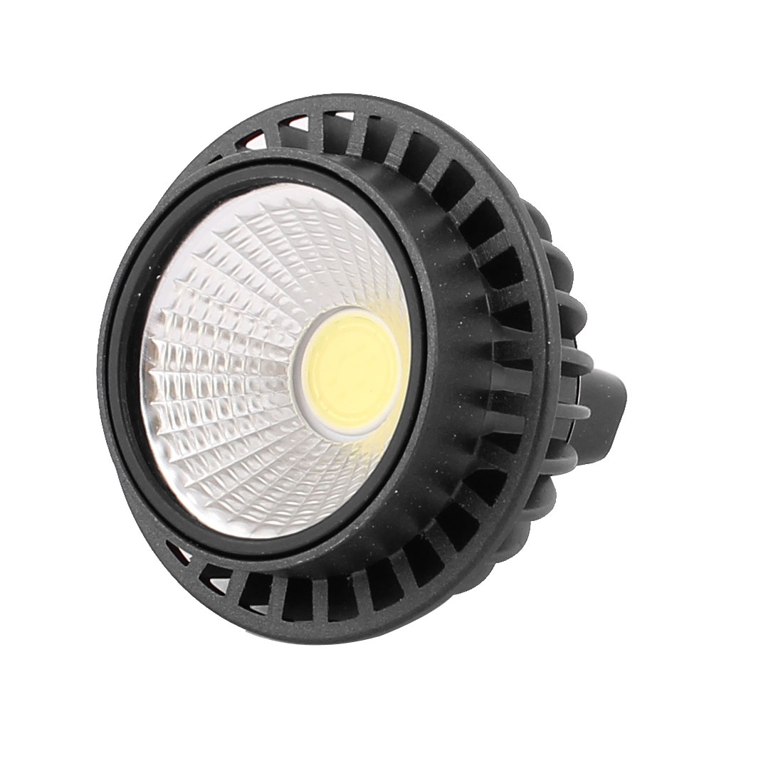 DC12V 3W MR16 COB LED Spotlight Lamp Bulb Round Downlight Pure White