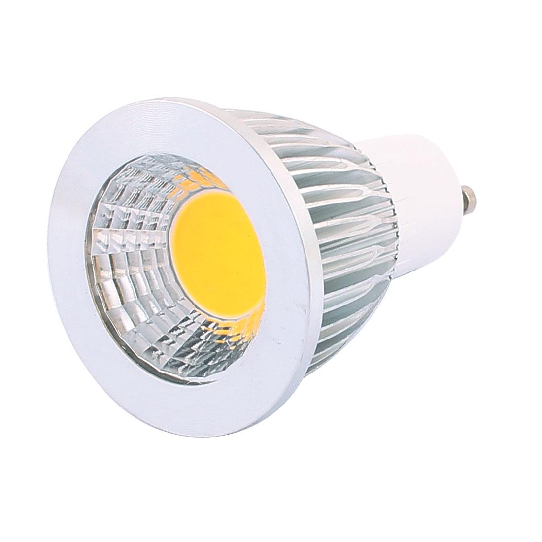 AC85-265V 5W Bright GU10 COB LED Spot Down Light Lamp Energy Saving Pure White