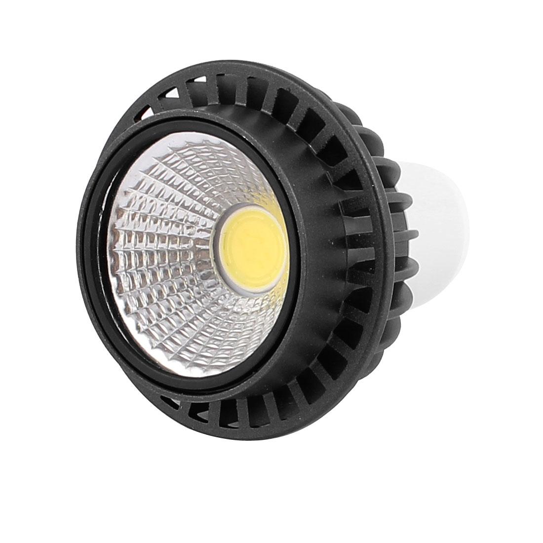 AC85-265V 3W GU5.3 COB LED Spotlight Lamp Bulb Round Downlight Pure White