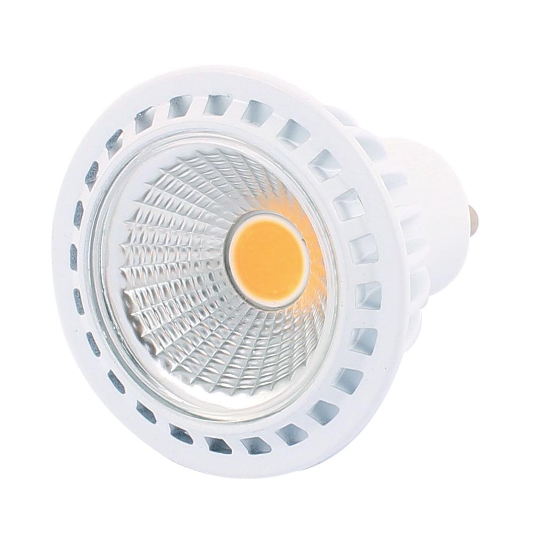 AC85-265V 3W Ultra Bright GU10 COB LED Spotlight Lamp Bulb Downlight Warm White