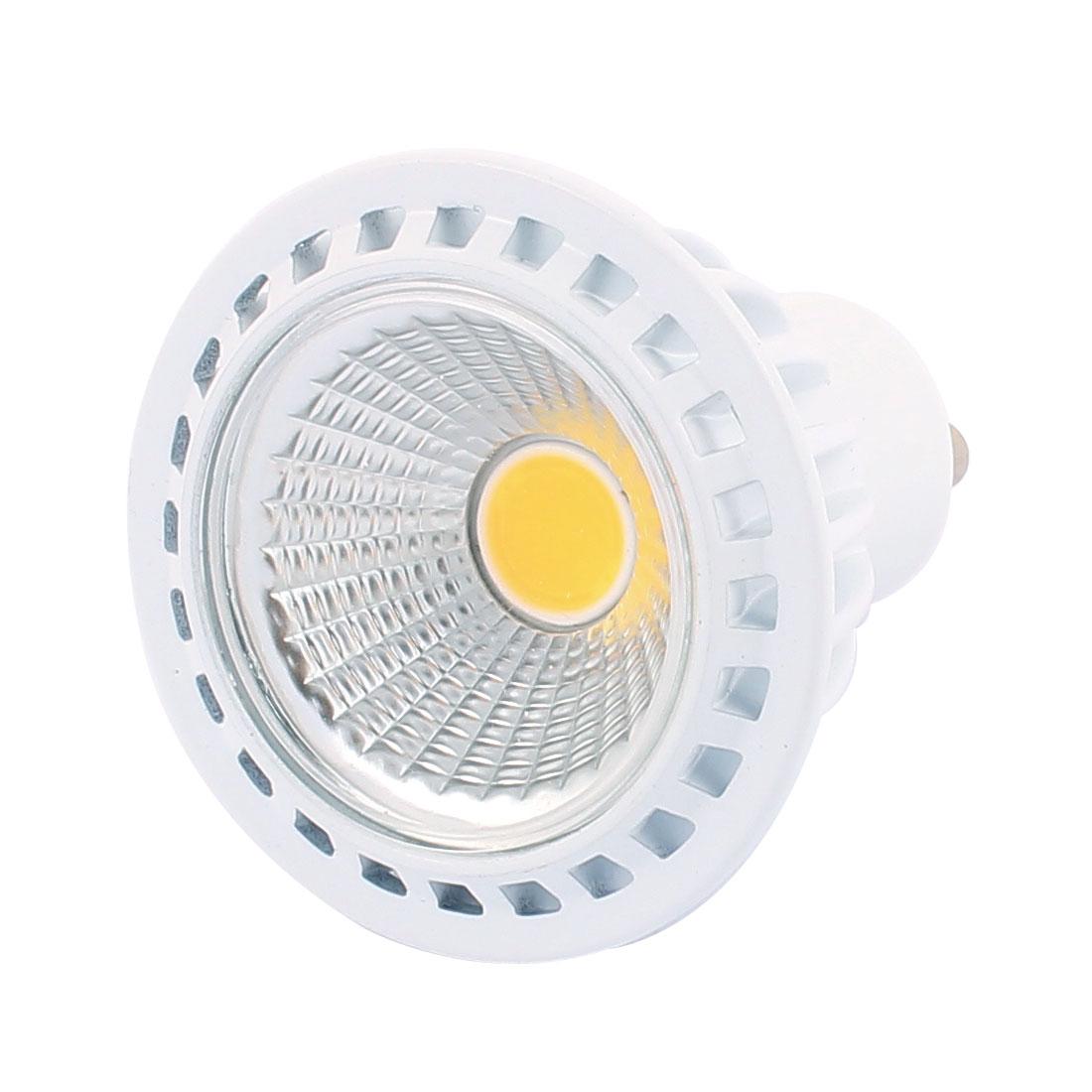 AC85-265V 3W Ultra Bright GU10 COB LED Spotlight Lamp Bulb Downlight Pure White