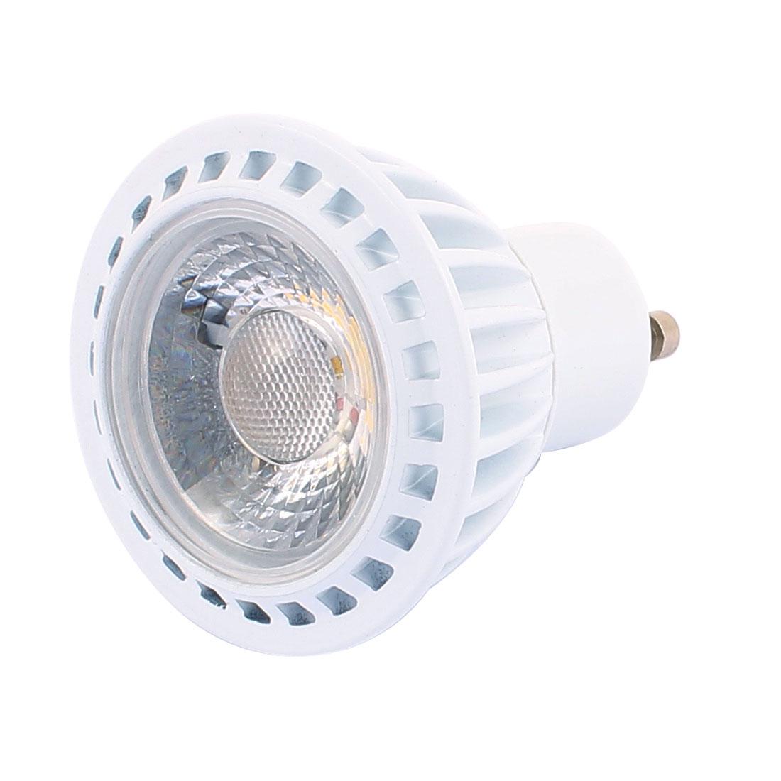 AC85-265V 3W GU10 COB Integrated Chip LED Spotlight Lamp Bulb Downlight Pure White