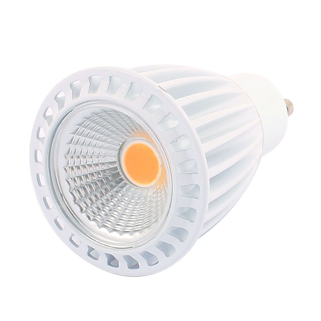 AC85-265V 7W GU10 COB LED 560LM Spotlight Lamp Bulb Downlight Warm White