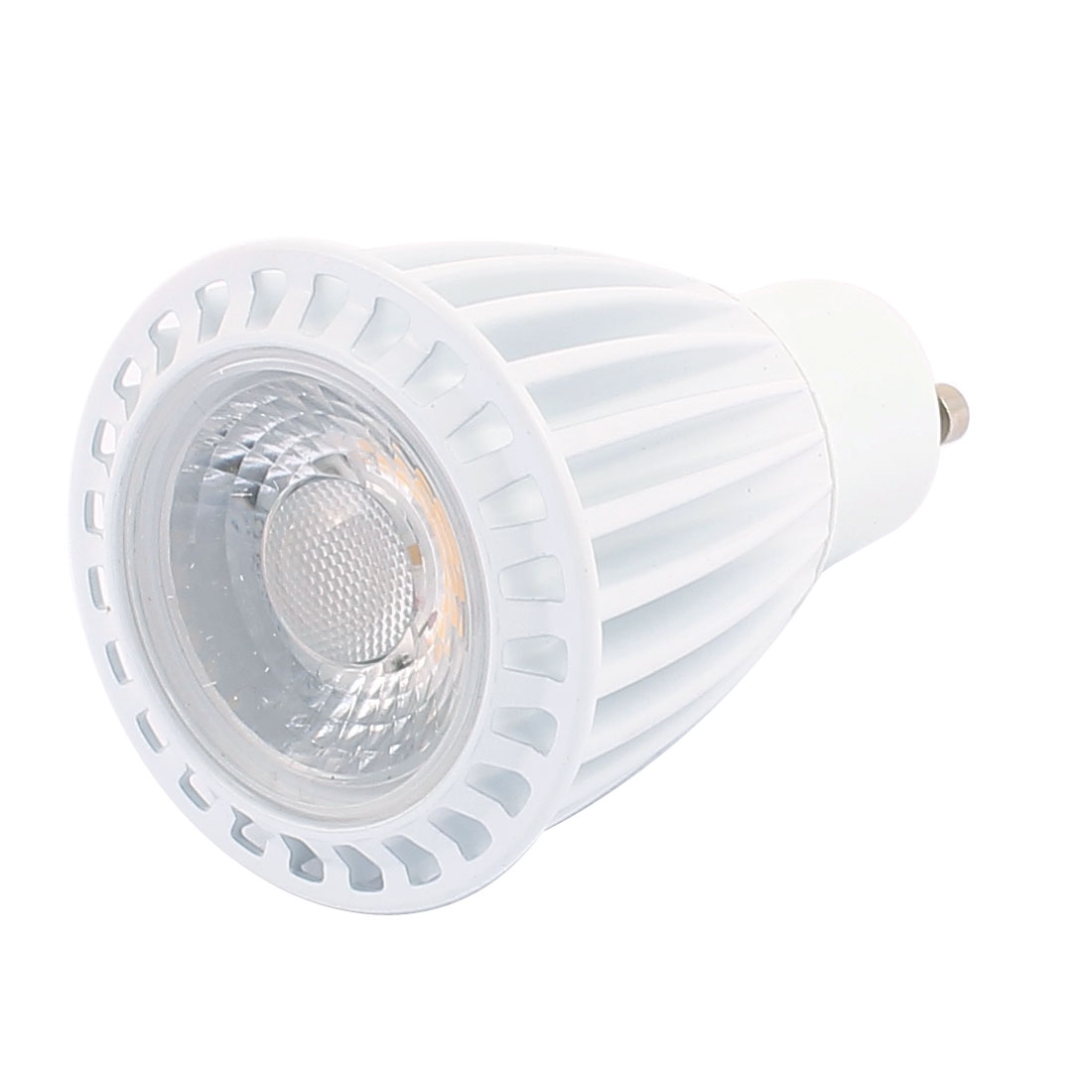 AC85-265V 7W GU10 Base COB LED Spotlight Bulb Downlight Energy Saving Warm White