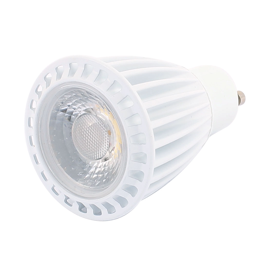 AC85-265V 7W GU10 Base COB LED Spotlight Bulb Downlight Energy Saving Pure White
