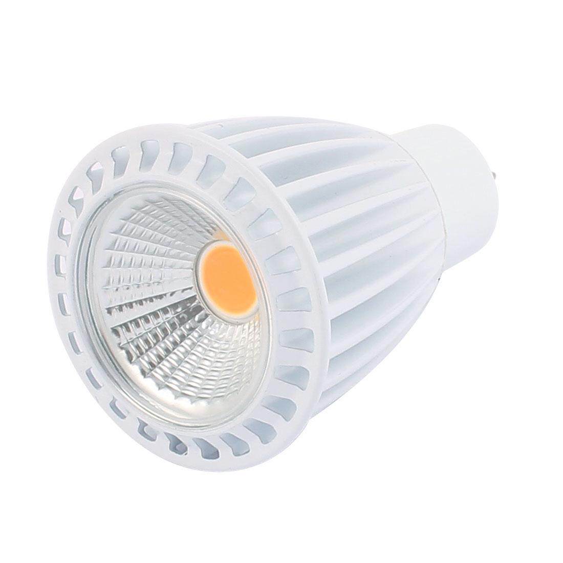 AC85-265V 7W Ultra Bright GU5.3 COB LED Spotlight Lamp Bulb Downlight Warm White