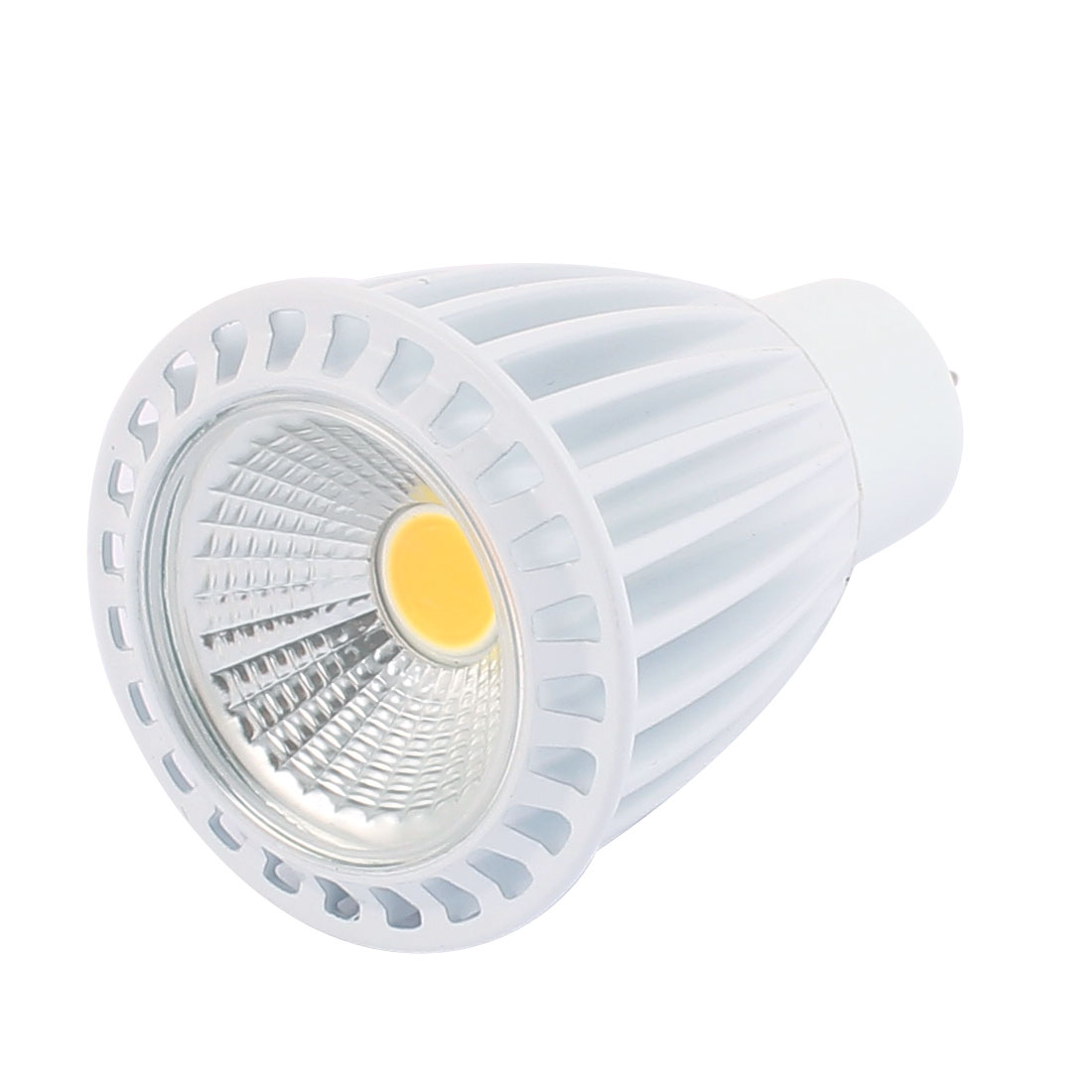 AC85-265V 7W Ultra Bright GU5.3 COB LED Spotlight Lamp Bulb Downlight Pure White