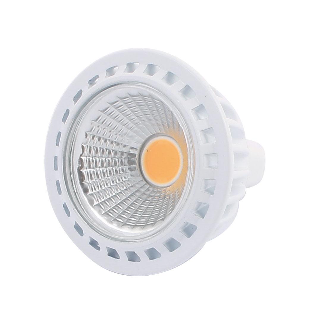 DC12V 3W Ultra Bright MR16 COB LED Spotlight Lamp Bulb Downlight Warm White