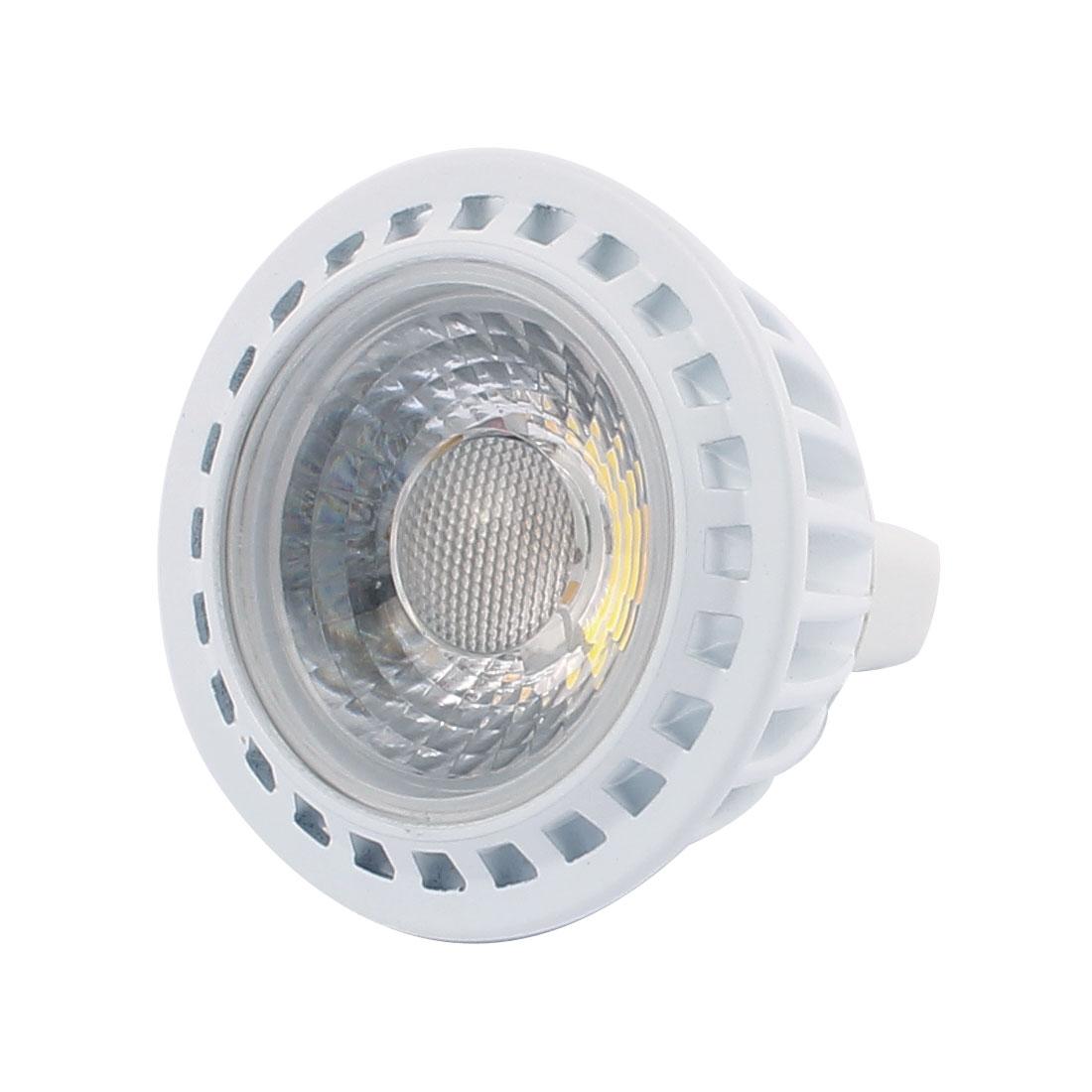 DC12V 3W MR16 COB Integrated Chip LED Spotlight Lamp Bulb Downlight Pure White