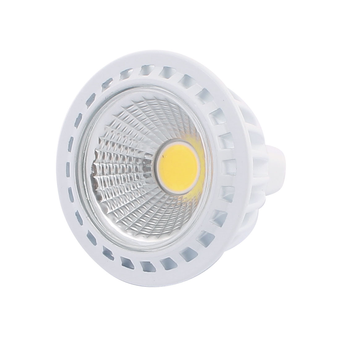DC12V 5W MR16 COB LED Spotlight Lamp Bulb Practical Downlight Warm White