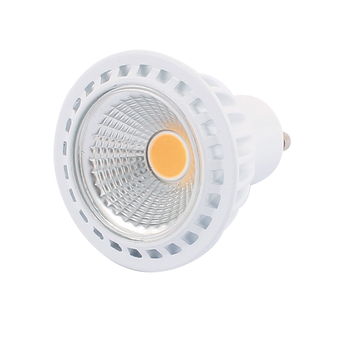 AC85-265V 5W GU10 COB LED Spotlight Lamp Bulb Practical Downlight Warm White