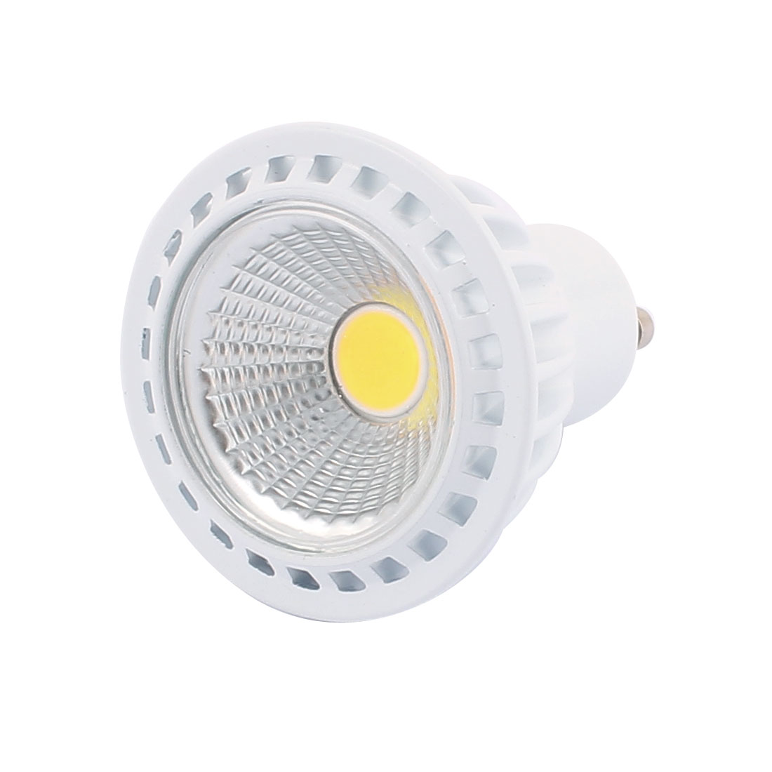 AC85-265V 5W GU10 COB LED Spotlight Lamp Bulb Practical Downlight Pure White