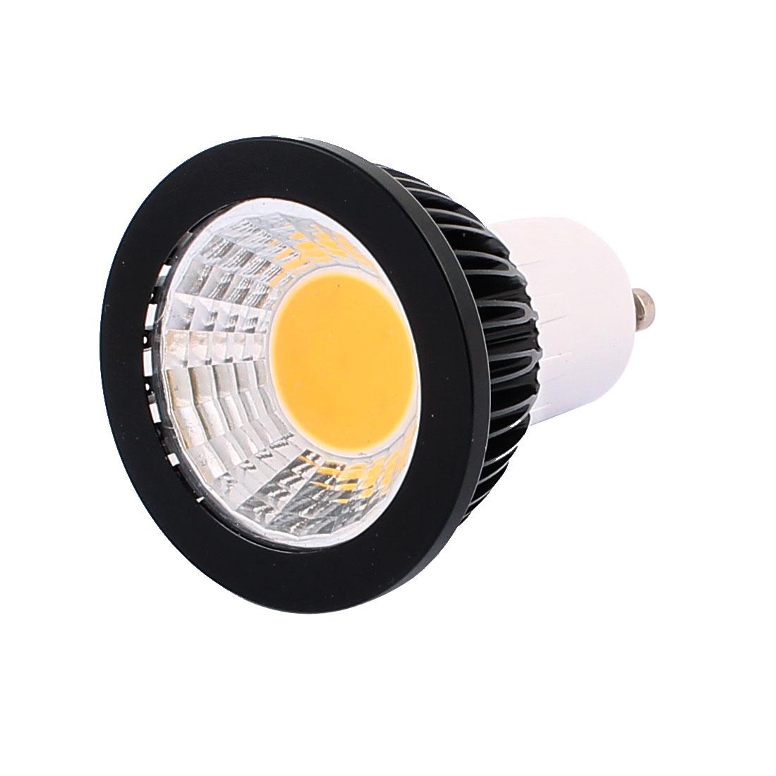 AC85-265V 3W Power GU10 Base COB LED Spotlight Bulb Downlight Warm White