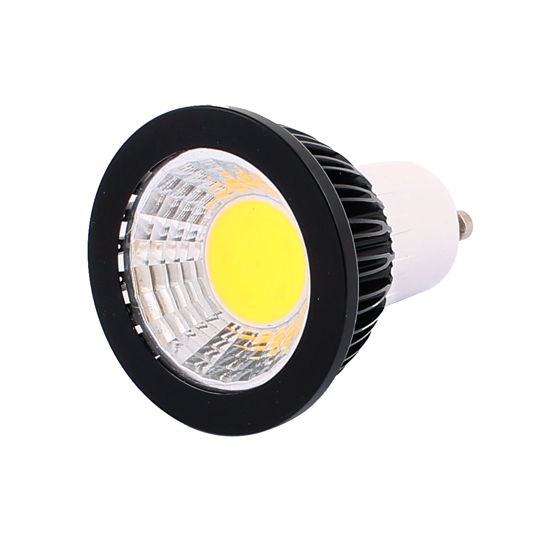 AC85-265V 3W Power GU10 Base COB LED Spotlight Bulb Downlight Pure White