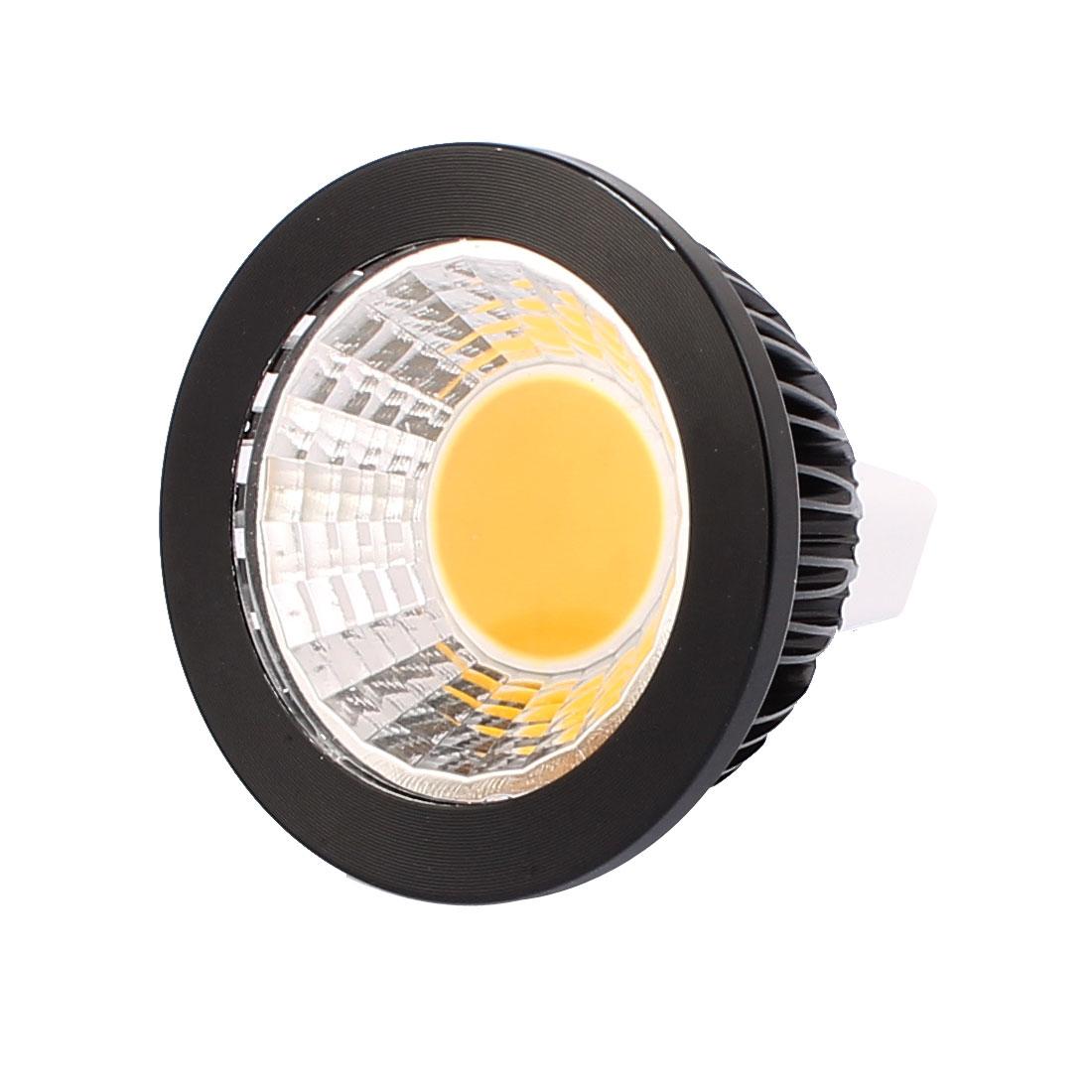 DC12V 3W MR16 COB LED Spotlight Lamp Bulb Energy Saving Downlight Warm White