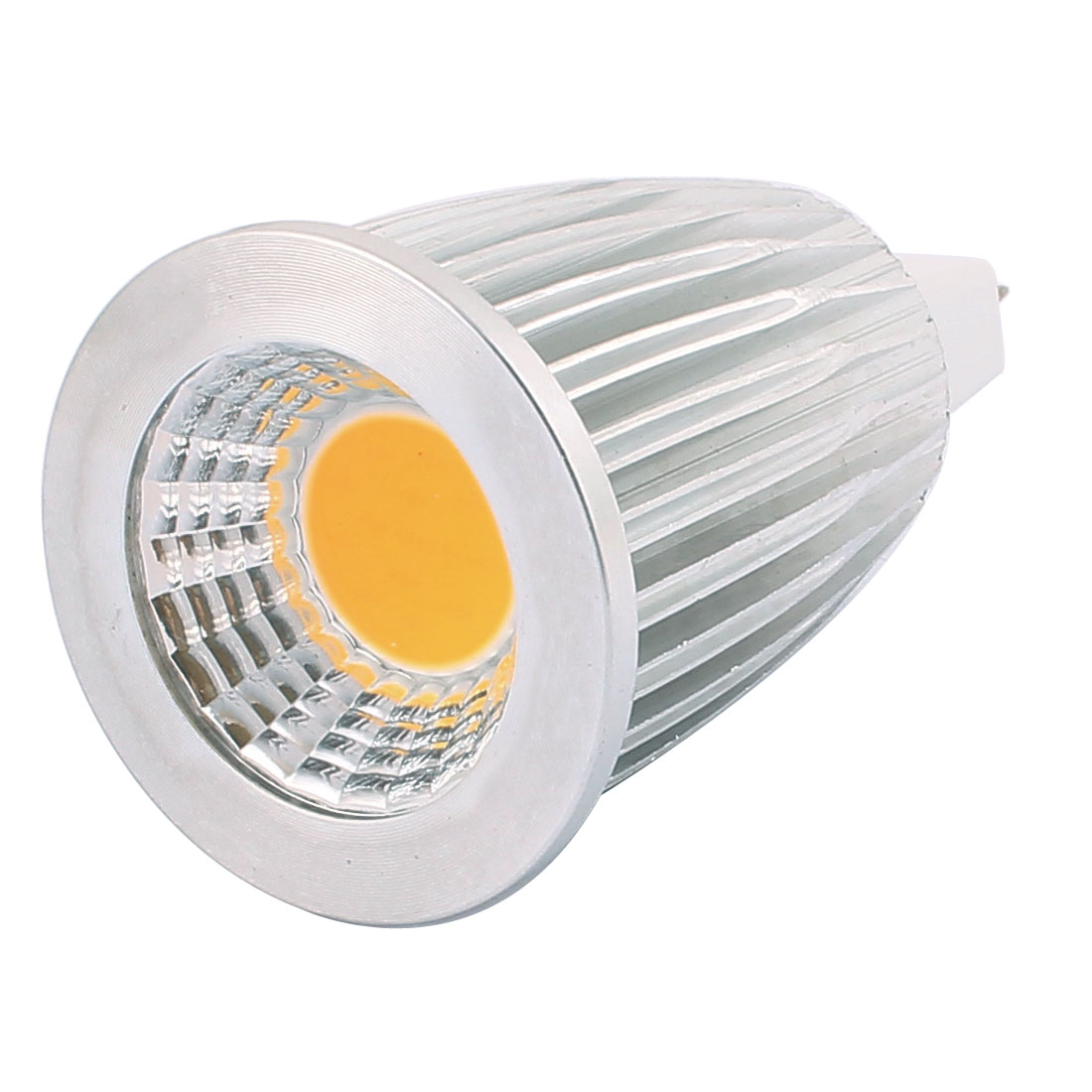 DC12V 7W MR16 COB LED Spotlight Lamp Bulb Energy Saving Downlight Warm White