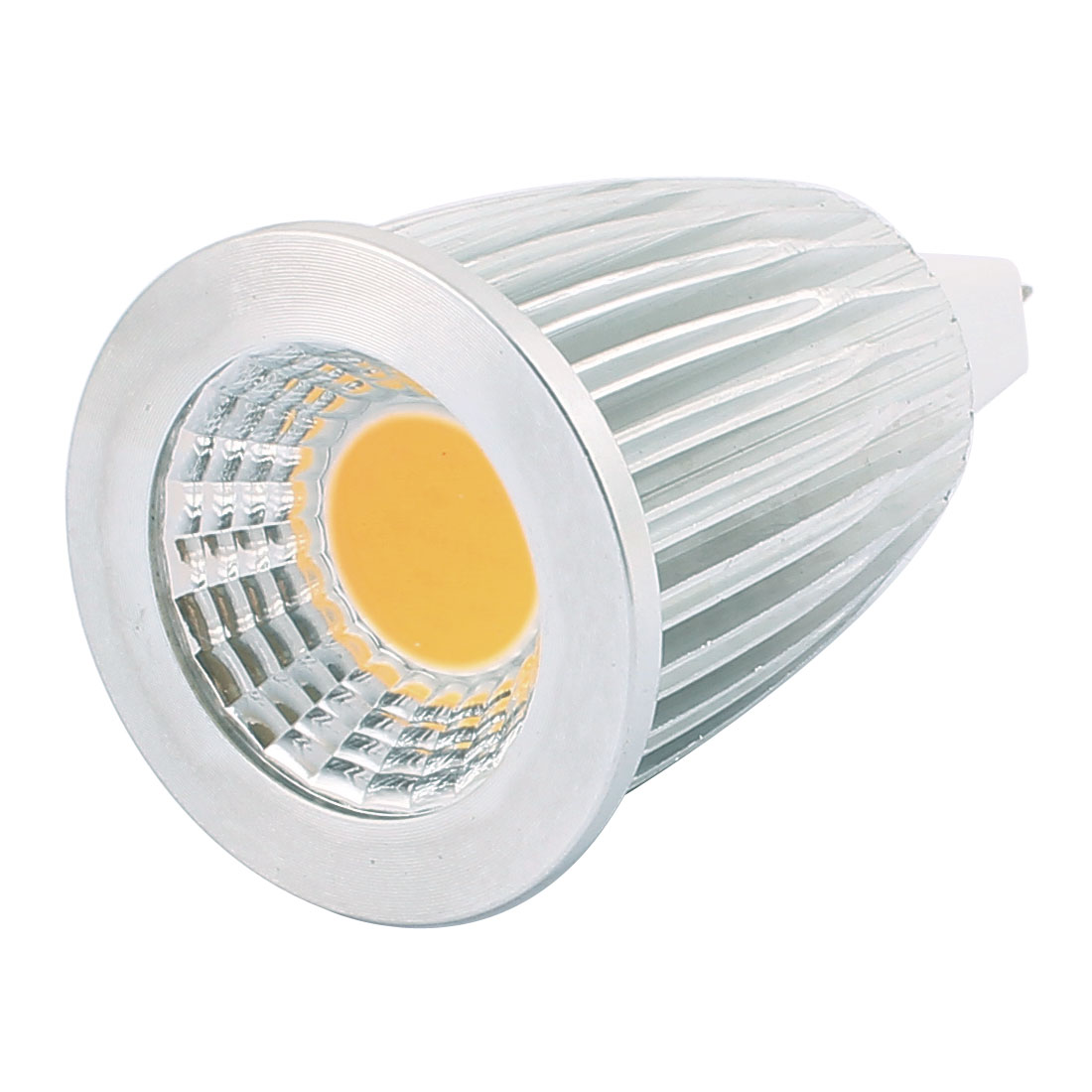 AC85-265V 7W GU5.3 COB LED Spotlight Lamp Bulb Energy Saving Downlight Warm White