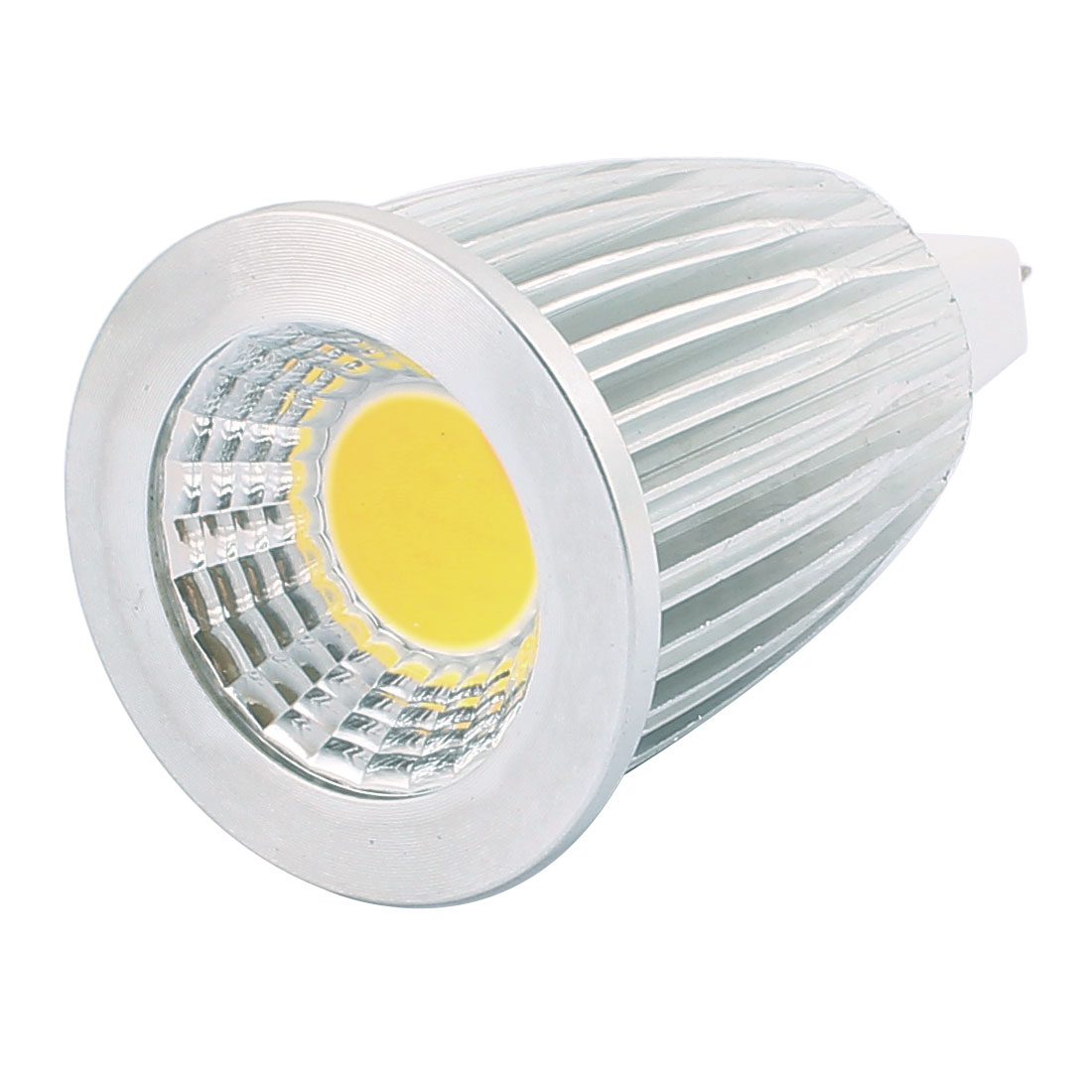 AC85-265V 7W GU5.3 COB LED Spotlight Lamp Bulb Energy Saving Downlight Pure White