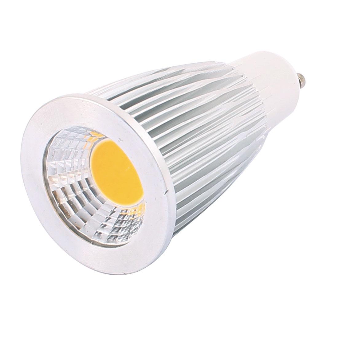 AC85-265V 7W GU10 COB LED Spotlight Lamp Bulb Energy Saving Downlight Warm White