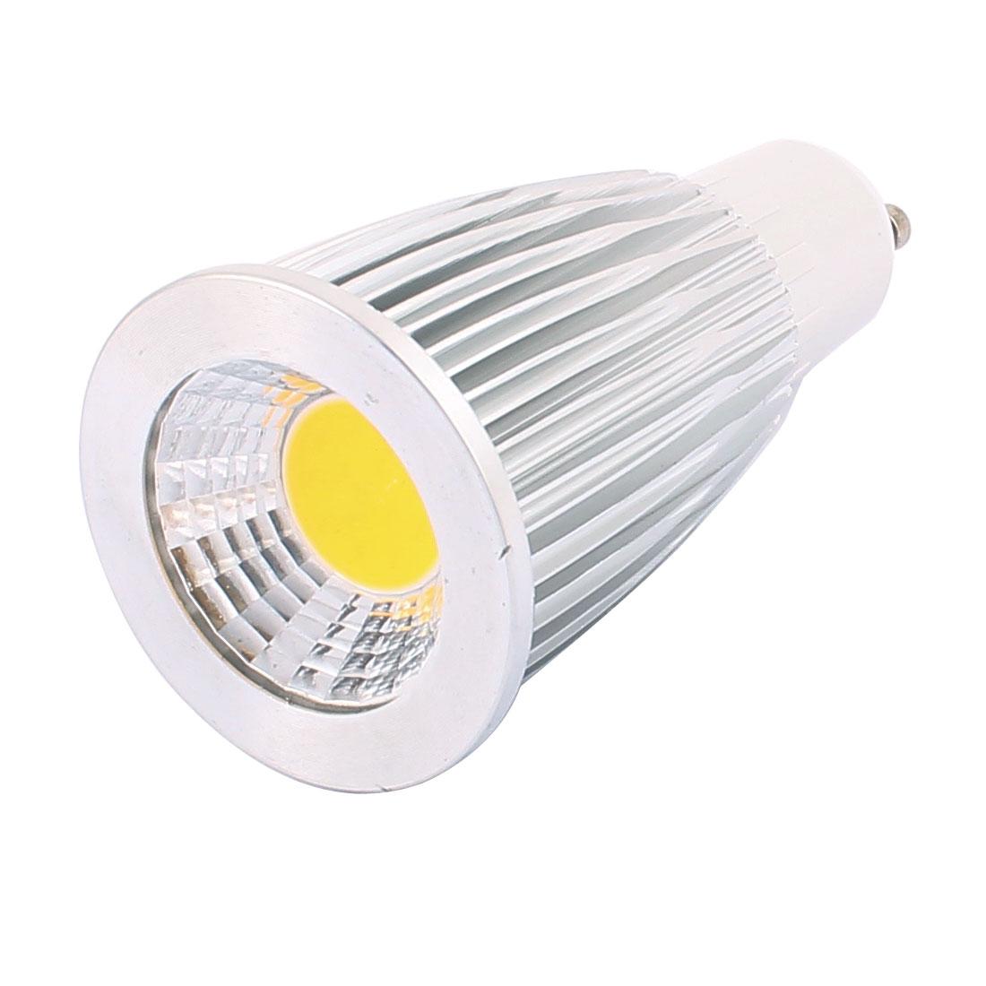 AC85-265V 7W GU10 COB LED Spotlight Lamp Bulb Energy Saving Downlight Pure White