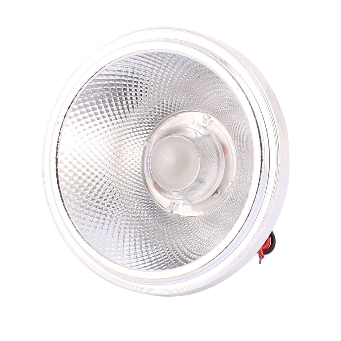 AC 85-260V 5W 2 Wire AR111 LED COB Flood Light Lamp Spotlight Pure White