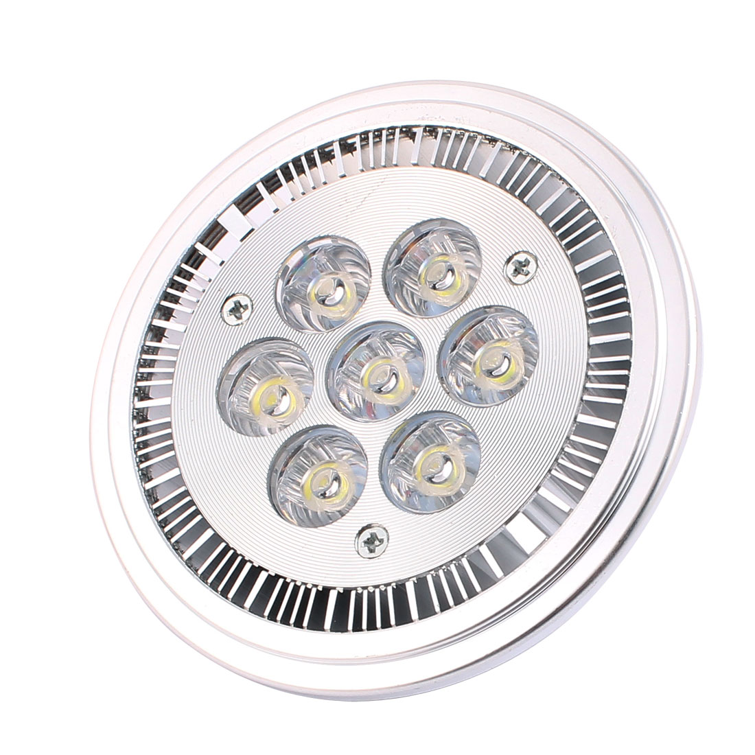 DC 12V 7W AR111 COB G53 LED Ceiling Light Lamp Spotlight Reflector Pure White