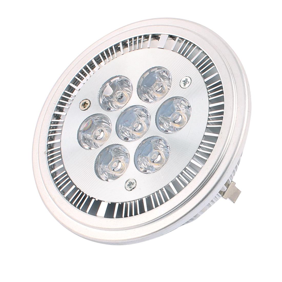 DC 12V 7W AR111 COB G53 LED Ceiling Light Lamp Spotlight Reflector Warm White