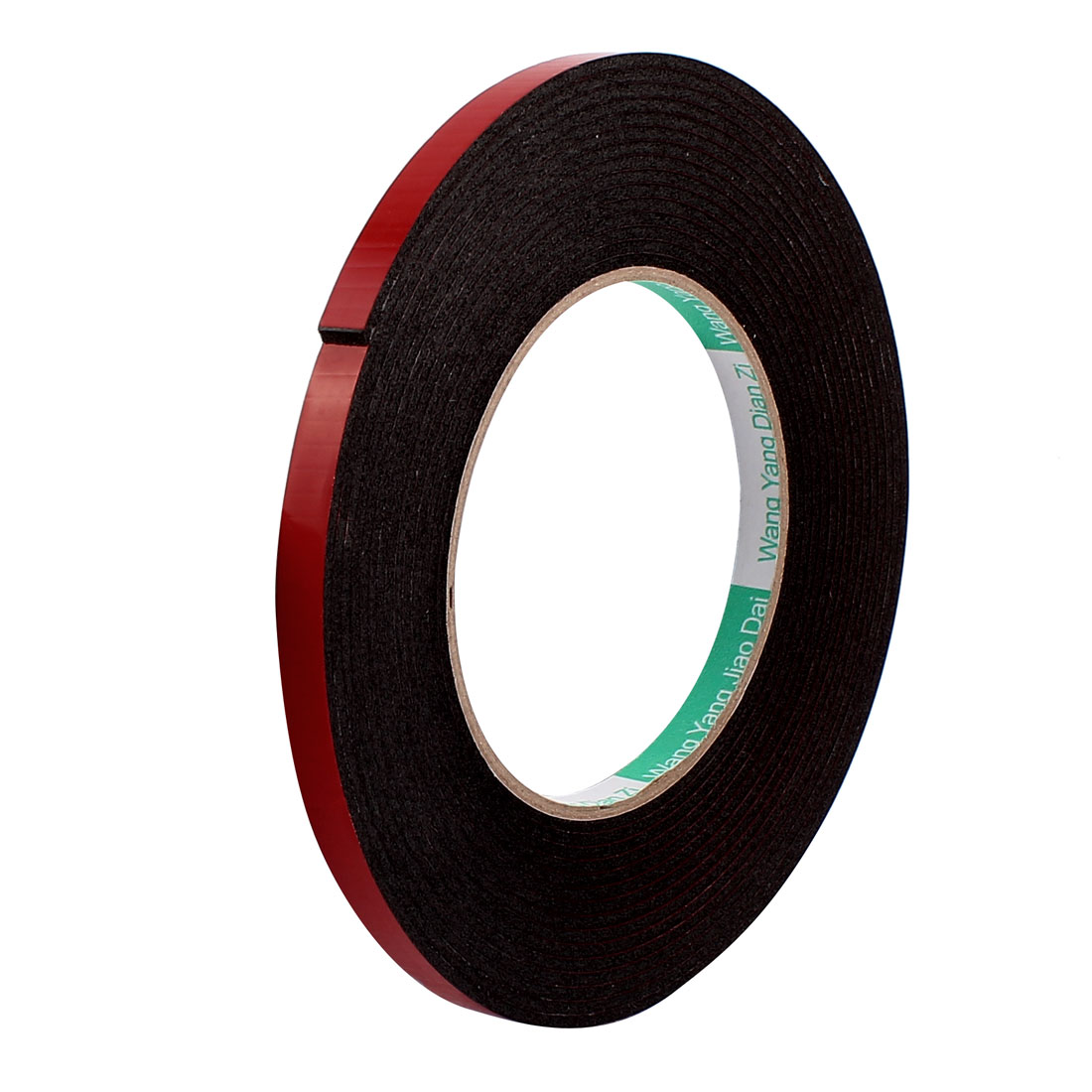 8mmx2mm Double Sided Sponge Tape Adhesive Sticker Foam Glue Strip Sealing 5 Meters