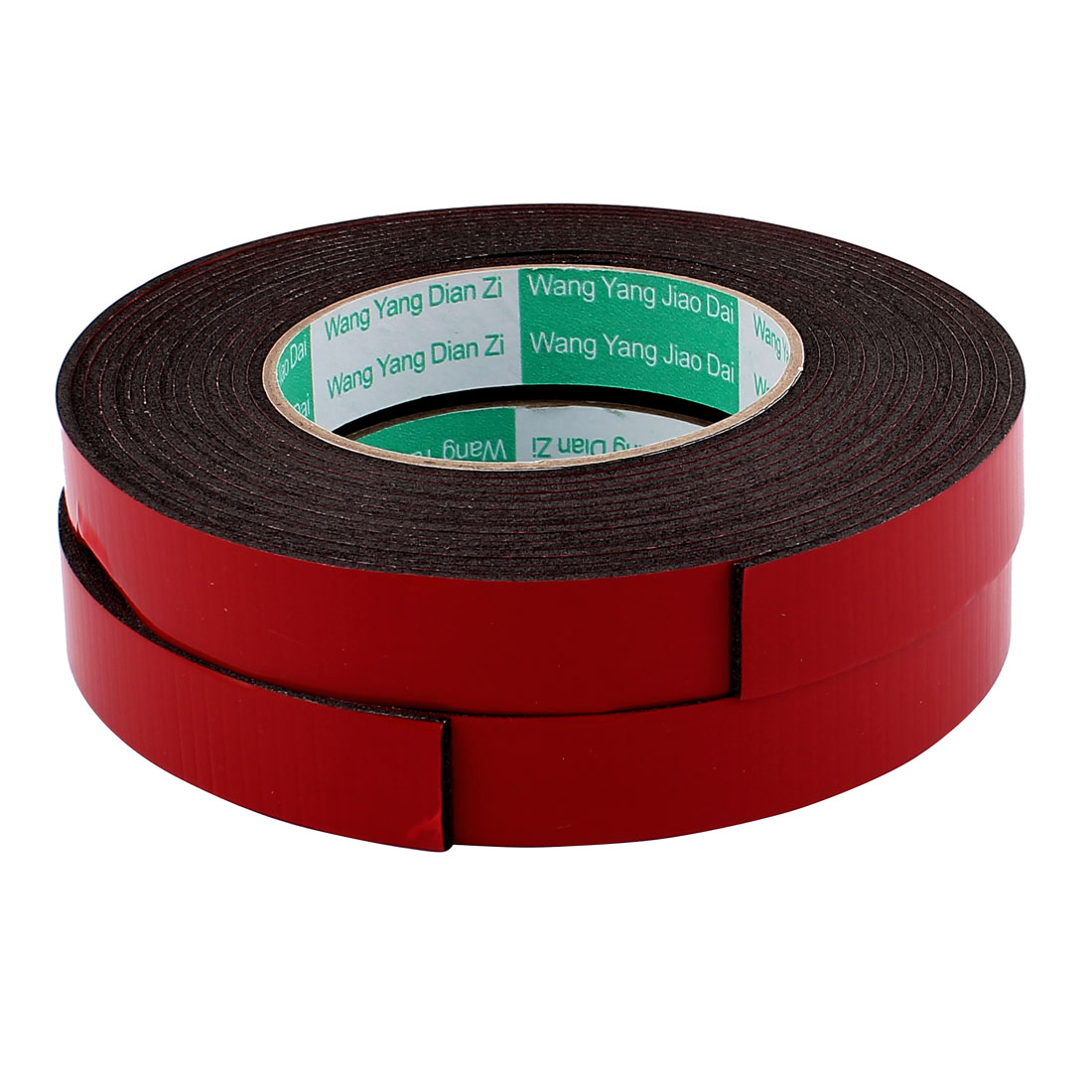 2 Pcs 20mmx2mm Double Sided Sponge Tape Adhesive Sticker Foam Glue Strip Sealing 5 Meters
