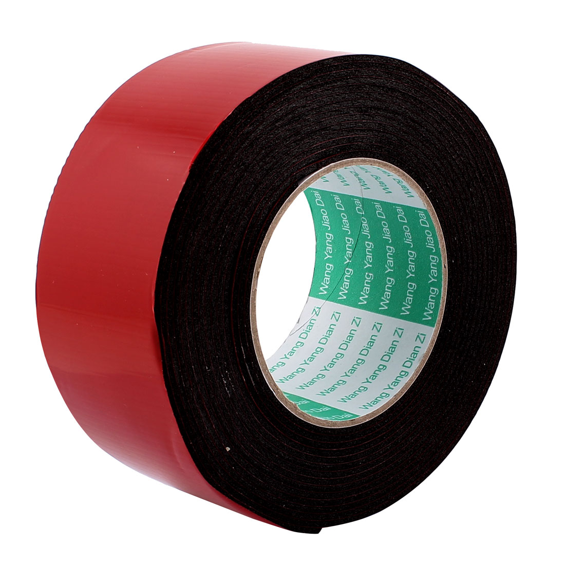 60mmx2mm Double Sided Sponge Tape Adhesive Sticker Foam Glue Strip Sealing 5 Meters