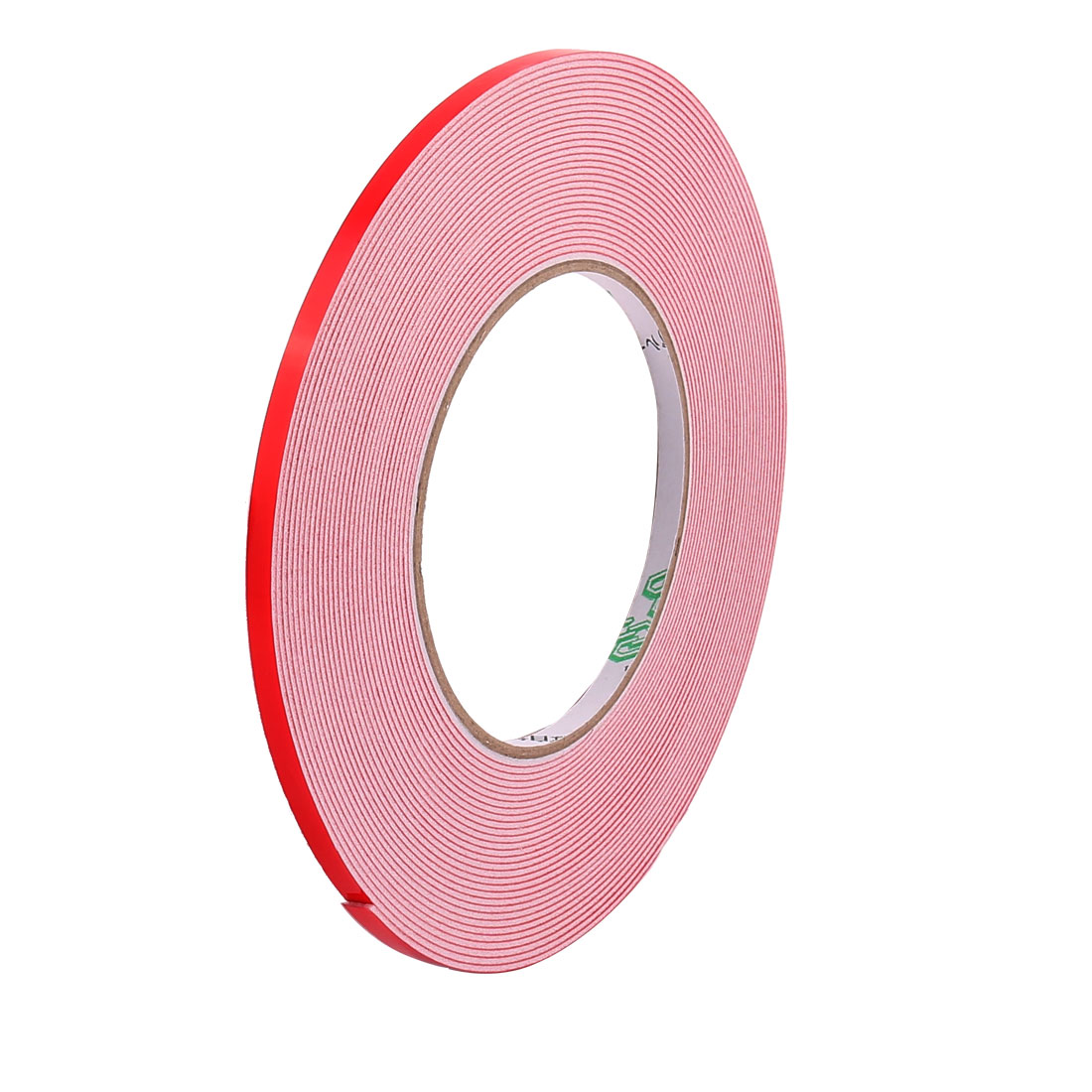 5mmx1mm Double Sided Sponge Tape Adhesive Sticker Foam Glue Strip Sealing 10 Meters 33Ft