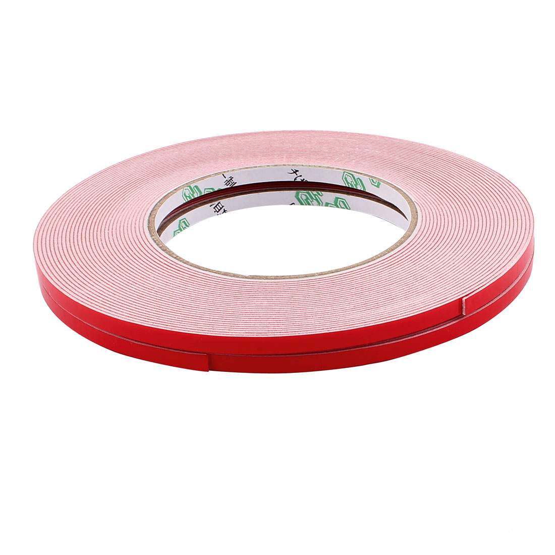 2 Pcs 5mmx1mm Double Sided Sponge Tape Adhesive Sticker Foam Glue Strip Sealing 10 Meters 33Ft