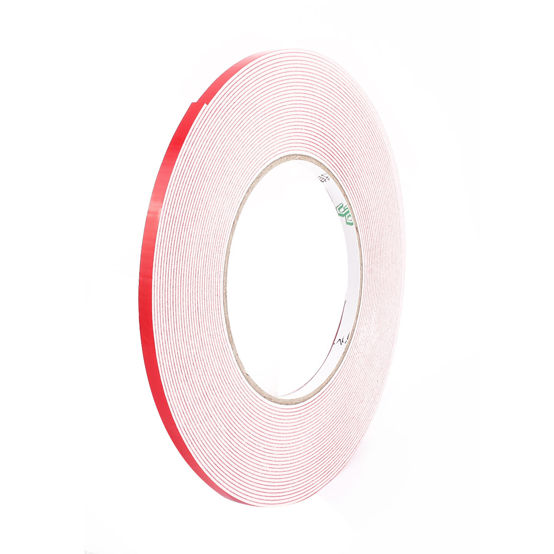 10PCS 0.5CM Width 10M Long 1MM Thick White Dual Sided Waterproof Sponge Tape for Car